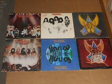 ANGEL lot 7x LP self titled SINFUL helluva band WHITE HOT live without a net