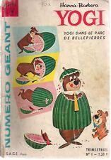 YOGI #1 Giant comic (1960) French language comic G/VG