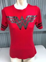 Wonder Woman DC Comics XL Youth 15/17 Red T-Shirt Top Stretch