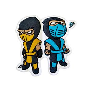 New Custom Made Sub Zero Scorpion Fighters Mortal Kombat 11 Floor Mat Carpet Rug