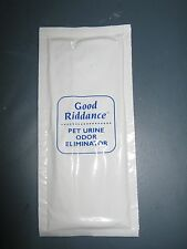 Good Riddance Pet Urine Odor Remover Concentrate- each packet makes one pint