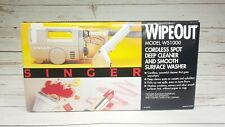 Vintage Singer WipeOut Cordless Spot Deep Cleaner Smooth Surface Washer Ws1000