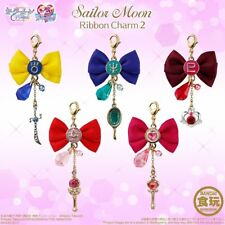 "Japanese animation ""Sailor Moon"" Pretty Soldier ""Ribbon Charm 2"" 5 Type  Bandai"