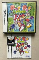 Puyo Pop Fever (Nintendo DS, 2005) In Box w/ Manual, Tested, DS Lite, DSi, 3DS