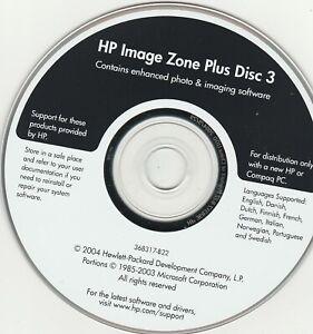 HP Image Zone Plus Disc 3 by Hewlett-Packard 2004