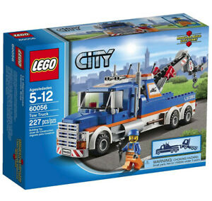 Lego City Tow Truck Set #60056 - complete w/instructions - Retired!