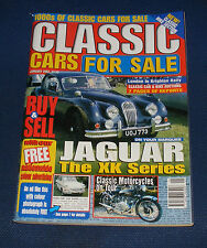 CLASSIC CARS FOR SALE JANUARY 2002 - JAGUAR THE XK SERIES