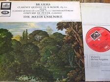 ASD 620 Brahms Clarinet Quintet etc. / De Peyer / Melos Ensemble