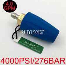 Secuda High Pressure Washer Cleaner Spray Turbo Nozzle Tip 4000PSI 4.0GPM FAST