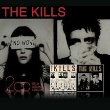 THE KILLS - KEEP ON YOUR MEAN SIDE/NO WOW... 2 CD NEU