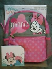 New listing Disney Baby Minnie Mouse Kids Harness Backpack New Free Shipping