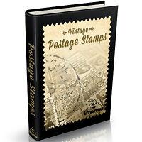 World Postage Stamps Books 165 Rare Books on DVD Philatelic Literature