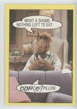 1987 #34 What a shame Nothing left to eat…except that pillow Non-Sports Card 0c4
