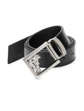 Versace collection leather men's belt