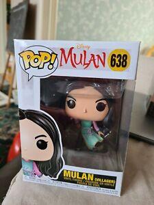 Funko Pop! Disney Mulan # 638 Mulan (Villager) Vinyl Figure