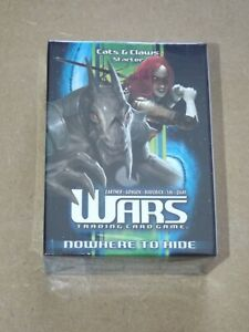 Wars TCG Nowhere to Hide Cats & Claws Starter Deck New & Sealed