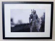 "Star Wars Prototype Boba Fett ""Spielzeug Kunst gerahmt a4 gedruckt Poster Drucke Bild"