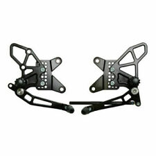 Vortex V2 Adjustable Rearsets Kawasaki ZX-6R 2009-2012