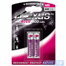 TECXUS AAA 600mAh Pack of 2 Rechargeable DECT HOME CORDLESS PHONE Batteries