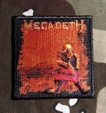 Megadeth Peace Sells Woven Patch M029P Slayer Metallica Testament Exodus Anthrax