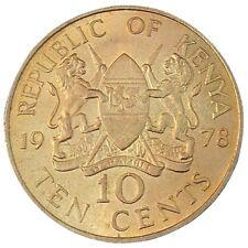 Kenya 10 Cents 1978 KM#11 Jomo Kenyatta (5242)