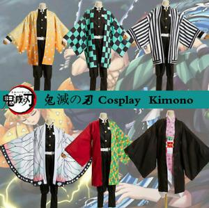 Kids Halloween Cosplay Demon Slayer Kimetsu no Yaiba Anime Nezuko Costume Outfit