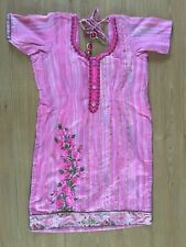 NEW Pink Indian Outfit, s: 12 approx