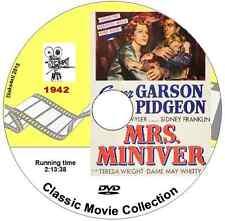 Mrs Miniver Starring: Greer Garson, DVD 1940 Film - 4 for 3 see listing
