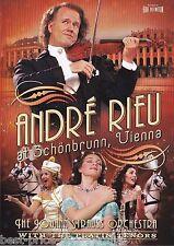 ANDRÉ ANDRE RIEU: At Schonbrunn Vienna DVD MUSIC The Johann Strauss Orchestra R0