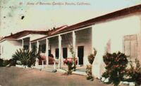 Home Of Romona Camulos Rancho Fillmore California CA Vintage 1910's Postcard