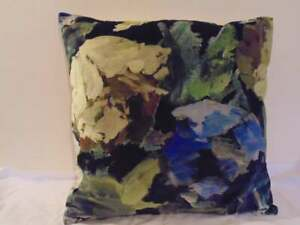 Designers Guild Velvet  Fabric Bloomsbury Rose Indigo Cushion Covers  D1