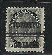 Canada Precancels - ON - Toronto - 3-74 - ½c QV