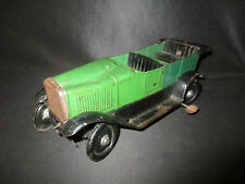 ancienne grande voiture à ressort jouet tôle peinte vers 1900 JEP? début XX ème
