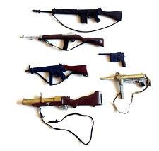 Original Vintage années 1970 GI JOE ACTION MAN TOY SOLDIER figures Gun Accessoires