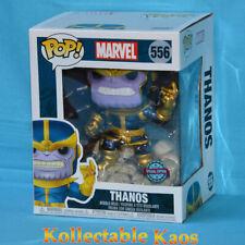 "Marvel Thanos Infinity Saga Metallic 80th Anniversary US 6"" Pop Deluxe Figure"