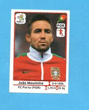 PANINI-EURO 2012-Figurina n.269- MOUTINHO - PORTOGALLO -NEW-WHITE BOARD