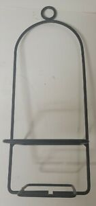 Wrought iron Large Jar Candle Holder Plant Holder Hanging or Free Standing