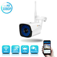 1080P Wireless IP Security Camera Outdoor HD Wifi Surveillance CCTV Home P2P 16G
