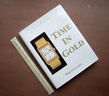Tempo in oro. 1988 SCHIFFER USA DA COLLEZIONE BOOK .17 Top Swiss Watch superba marche.