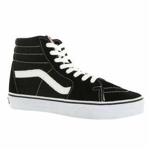 Vans Sk8-Hi Top Skate Shoe Black/White Unisex Size NEW