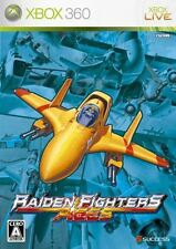 Gebrauchte xbox360 Raiden Fighters Aces Japan Import