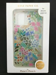 Case-Mate x Rifle Paper Co shockproof phone case for iPhone 11 Pro, X & XS AU