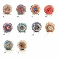 100G Girls Soft Craft Candy Color Swirl Special Cake Wool/Yarn Knitting/Crochet