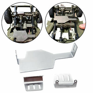 1 Set 1/12 RC Chassis Armor Guard Plate for FMS ROCHOBBY 1941 Willys Jeep
