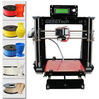 From USA! Geeetech Reprap Prusa I3 Pro B 3D Printer MK8 GT2560 Print 5 materials