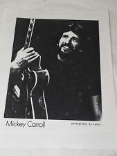 "MICKEY CARROLL FLORIDA SONGWRITER PICTURE & CONTRACT ""love is where you find It"