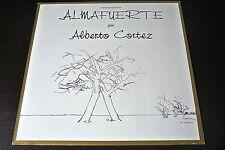 LP ALBERTO CORTEZ versos escogidos de ALMAFUERTE SPAIN 1968 VINYL VINILO