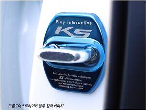 K5 Text Stainless Steel Door Striker Cover 4PC 5Color for 2021+ Kia K5 Optima
