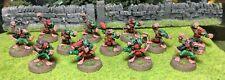Painted Metal Blood Bowl Skavenblight Scramblers Skaven Team OOP