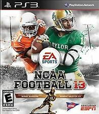 NCAA Football 13 - PS3 lightly used, great condition